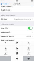 Apple iPhone 6 iOS 8 - E-mail - Configurar correo electrónico - Paso 24