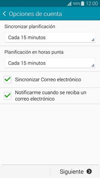 Samsung N910F Galaxy Note 4 - E-mail - Configurar correo electrónico - Paso 16