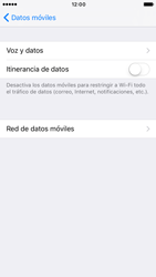 Apple iPhone 6s iOS 10 - Internet - Configurar Internet - Paso 6