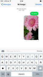 Apple iPhone 6 Plus iOS 8 - MMS - Escribir y enviar un mensaje multimedia - Paso 14