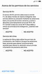 Huawei P10 - Primeros pasos - Activar el equipo - Paso 8