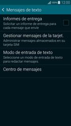 Samsung G850F Galaxy Alpha - MMS - Configurar el equipo para mensajes de texto - Paso 7