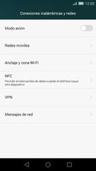 Huawei Ascend G7 - MMS - Configurar el equipo para mensajes multimedia - Paso 5
