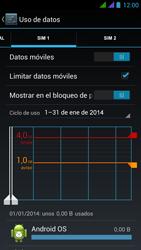 BQ Aquaris 5 HD - Internet - Ver uso de datos - Paso 12