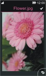 Nokia Asha 311 - MMS - Escribir y enviar un mensaje multimedia - Paso 14
