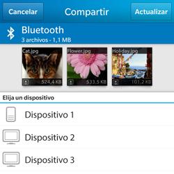 BlackBerry Q5 - Connection - Transferir archivos a través de Bluetooth - Paso 9