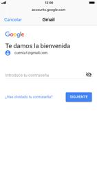 Apple iPhone 7 iOS 11 - E-mail - Configurar Gmail - Paso 7