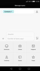 Huawei P8 - MMS - Escribir y enviar un mensaje multimedia - Paso 9