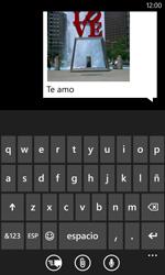 Nokia Lumia 520 - MMS - Escribir y enviar un mensaje multimedia - Paso 12