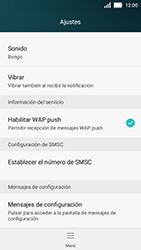 Huawei Y5 - MMS - Configurar el equipo para mensajes de texto - Paso 5