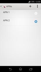 Sony D2203 Xperia E3 - Internet - Configurar Internet - Paso 17