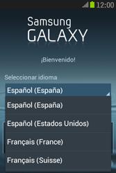 Samsung S6310 Galaxy Young - Primeros pasos - Activar el equipo - Paso 3