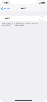Apple iPhone X - WiFi - Conectarse a una red WiFi - Paso 4