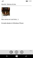 Microsoft Lumia 535 - E-mail - Escribir y enviar un correo electrónico - Paso 13
