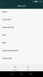 Huawei Ascend G7 - MMS - Configurar el equipo para mensajes multimedia - Paso 11