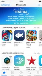 Apple iPhone 6 iOS 8 - Aplicaciones - Descargar aplicaciones - Paso 3