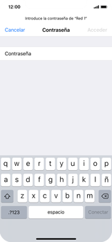 Apple iPhone X - WiFi - Conectarse a una red WiFi - Paso 6