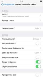 Apple iPhone 6 Plus iOS 8 - E-mail - Configurar Yahoo! - Paso 10