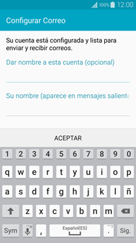 Samsung N910F Galaxy Note 4 - E-mail - Configurar Yahoo! - Paso 9