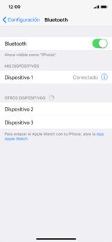 Apple iPhone X - Connection - Conectar dispositivos a través de Bluetooth - Paso 6