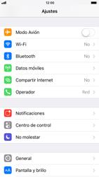 Apple iPhone 8 - Internet - Activar o desactivar la conexión de datos - Paso 3