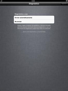 Apple iPad 2 - Primeros pasos - Activar el equipo - Paso 15