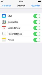 Apple iPhone 5s - iOS 11 - E-mail - Configurar Outlook.com - Paso 9