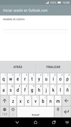 HTC One A9 - E-mail - Configurar Outlook.com - Paso 10