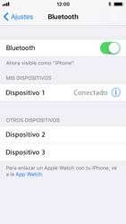Apple iPhone 5s - iOS 11 - Connection - Conectar dispositivos a través de Bluetooth - Paso 7