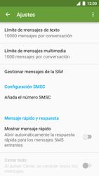 BQ Aquaris U - MMS - Configurar el equipo para mensajes de texto - Paso 6