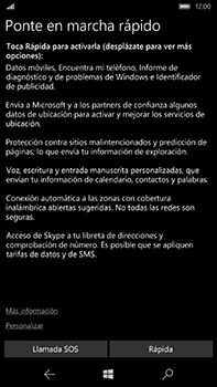 Microsoft Lumia 950 XL - Primeros pasos - Activar el equipo - Paso 13