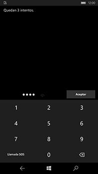 Microsoft Lumia 950 XL - Primeros pasos - Activar el equipo - Paso 8