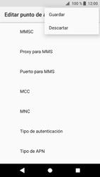 Sony Xperia XZ1 - MMS - Configurar el equipo para mensajes multimedia - Paso 15