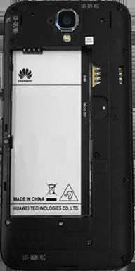 Huawei Y5 - Primeros pasos - Quitar y colocar la batería - Paso 3