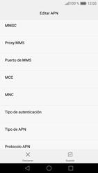 Huawei P9 Lite - MMS - Configurar el equipo para mensajes multimedia - Paso 12