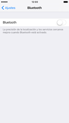 Apple iPhone 6 iOS 10 - Connection - Conectar dispositivos a través de Bluetooth - Paso 4