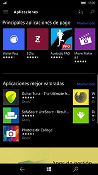 Microsoft Lumia 950 XL - Aplicaciones - Descargar aplicaciones - Paso 8