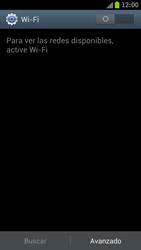 Samsung I9300 Galaxy S III - WiFi - Conectarse a una red WiFi - Paso 5
