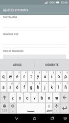 HTC One A9 - E-mail - Configurar correo electrónico - Paso 8