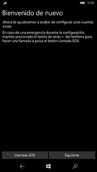 Microsoft Lumia 950 XL - Primeros pasos - Activar el equipo - Paso 6
