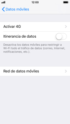 Apple iPhone 5s - iOS 11 - Internet - Configurar Internet - Paso 9