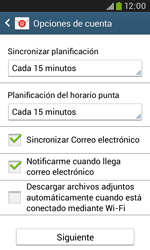 Samsung S7580 Galaxy Trend Plus - E-mail - Configurar Yahoo! - Paso 7