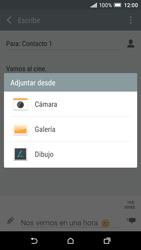HTC One A9 - MMS - Escribir y enviar un mensaje multimedia - Paso 16