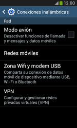 Samsung S7580 Galaxy Trend Plus - Internet - Activar o desactivar la conexión de datos - Paso 5