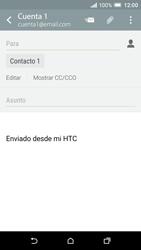 HTC One A9 - E-mail - Escribir y enviar un correo electrónico - Paso 8