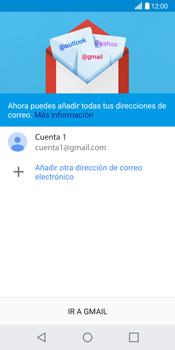 LG G6 - E-mail - Configurar Gmail - Paso 14