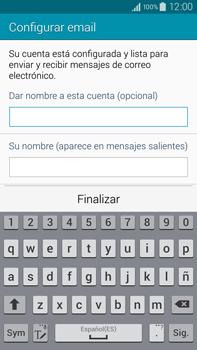 Samsung N910F Galaxy Note 4 - E-mail - Configurar correo electrónico - Paso 18