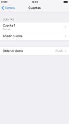 Apple iPhone 6s iOS 10 - E-mail - Configurar correo electrónico - Paso 16