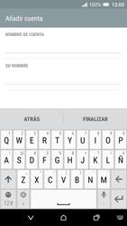 HTC One A9 - E-mail - Configurar Yahoo! - Paso 7