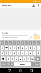 LG K10 (2017) - MMS - Escribir y enviar un mensaje multimedia - Paso 11